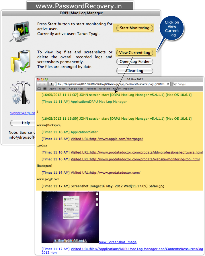how to detect keylogger software mac